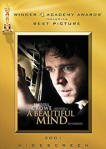 A Beautiful Mind (DVD, 2002, 2-Disc Set) brand new