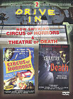 Circus of Horrors/Theatre of Death (DVD, 2003)