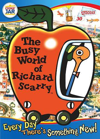 The Busy World Of Richard Scarry: Every Day There's Something New DVD