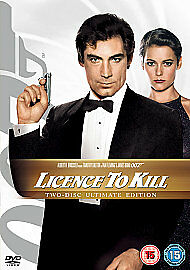 LICENSE LICENCE TO KILL DVD JAMES BOND 007 ULTIMATE ...