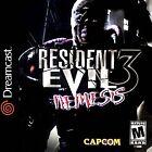 Resident Evil 3: Nemesis SEGA Video Games