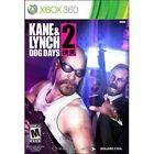 Kane & Lynch 2: Dog Days (Microsoft Xbox 360, 2010)
