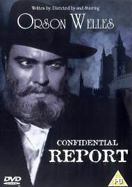 Confidential Report (a.k.a. Mr. Arkadin) [DVD], Good DVD, Michael Redgrave, Orso