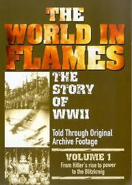 The-World-In-Flames-The-Story-Of-World-War-2-Volume-1-DVD-Good-DVD
