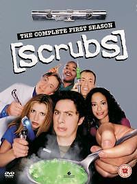 Scrubs-Staffel 1-komplett (DVD, 2005, 4-Disc Set)