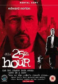 25TH HOUR  DVD  - USED