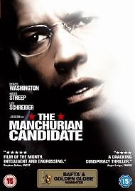The Manchurian Candidate (DVD, 2005) new and sealed freepost
