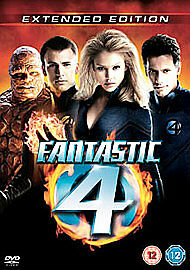 Fantastic Four (DVD, 2007, Extended Edition)