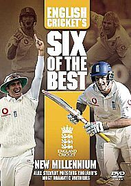 English-Crickets-Six-6-Of-The-Best-The-Millennium-NEW-DVD-England-UK-FREEPOST
