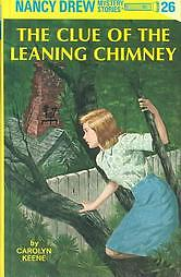 The-Clue-of-the-Leaning-Chimney-Nancy-Drew-Book-1949-Hardcover-Revised