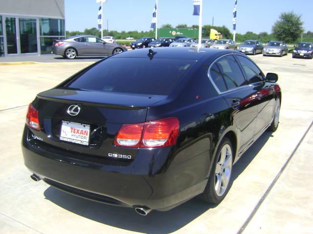 2007 LEXUS GS 350 BLACK