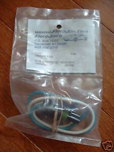 1987 88 pontiac fiero headlight harness connector new ebay. Black Bedroom Furniture Sets. Home Design Ideas