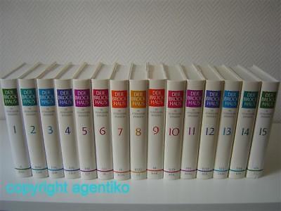 Brockhaus in 15 Bänden * NP 450,00€ * TOP GESCHENK