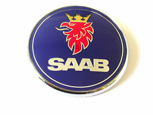 SAAB-9-3-SS-BOOT-BADGE-EMBLEM-BNIB-GENUINE-PART-03-07