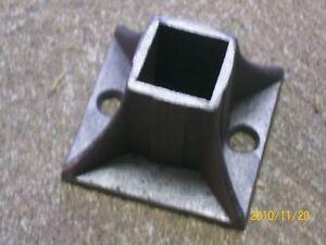 Railings Wrought Iron Handrailing Posts Repair Covers 2