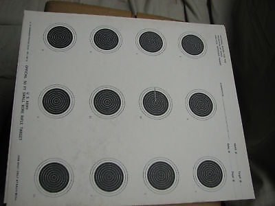 100 Of Bb Gun Targets 22 Paper Small Bore Us Military