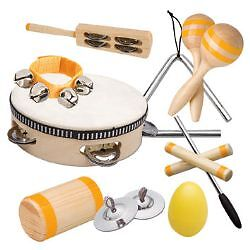 PERCUSSION SET PSET4 by ASHTON! PERFECT FOR KIDS! NEW!