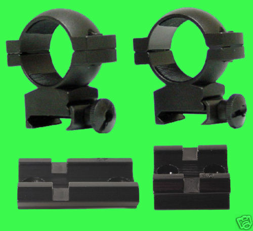 Mauser 98 Large Ring And Yugo 48 - 2 Piece Scope Mounts + Rings