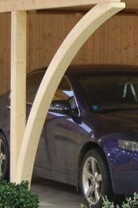 Leimholzbogen Doppelcarport Carport Leimholz Einzelcarport Massiv Holz Neu