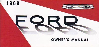 1969 Ford Passenger Car/wagon Owner's Manual