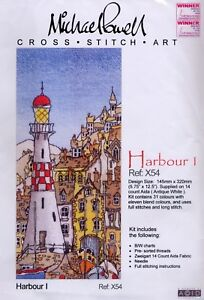 Michael-Powell-Cross-Stitch-Kit-X54-Harbour-I