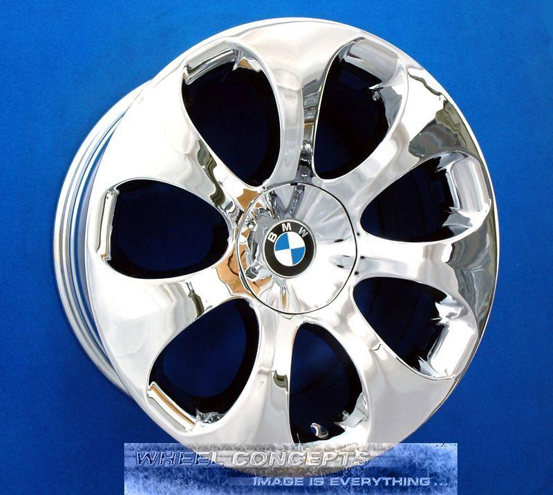 "Bmw 645i 645ci 650i 19 Inch Chrome Wheels Rims 645 650 6 I 19"" Set Of 4 #121"