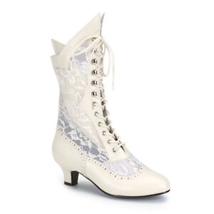 Victorian-Lace-Insert-High-Granny-Wedding-Boot-Dame-115