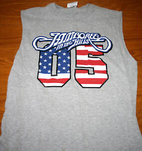 JAMBOREE-IN-HILLS-med-tank-top-Hank-Williams-Jr-Jo-Dee-Messina-George-Jones-OG