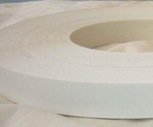 white melamine iron on edging tape 22mm wide 5 metres ebay. Black Bedroom Furniture Sets. Home Design Ideas