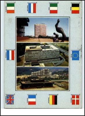 1977 Luxemburg LUXEMBOURG Mehrbild-AK & Flaggen Motive