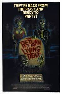Return of the Living Dead - A3 Film Poster-FREE UK P&P