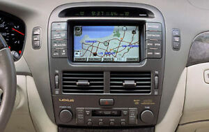 LEXUS 2004-2006 LS430  2015 NAVIGATION DVD MAP UPDATE14.1