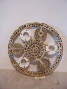 ROUND-WOVEN-TRIVET-PARTY-TABLEWARE-OUTSIDE-DECORATION