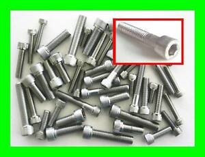 Stainless-Steel-UNF-Imperial-Socket-Caps-Allen-Bolts-50-Pack-3-16-1-4-5-16