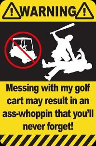 NEW-Sticker-Decal-for-Golf-Cart-Kart-Buggy-Car-AW