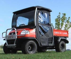 kubota rtv900 removable doors and rear window combo. Black Bedroom Furniture Sets. Home Design Ideas
