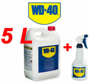 wd40 bidon 5 l pulv d grippant nettoyant anti humidit. Black Bedroom Furniture Sets. Home Design Ideas