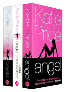 Katie Price 3 Books Collection Set -Angel,Angel Uncovered,Crystal