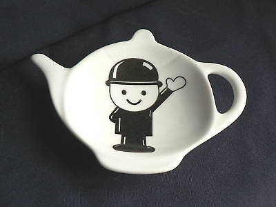 Homepride fred  Porcelain teabag tidy spoon rest teapot