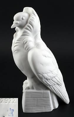 9942126-ds Porcelain Figurine Capuchin Pigeon White Zuchttaube Wagner&apel H17cm