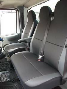 Citroen Relay Van Seat Covers Leatherette Trim Fabric