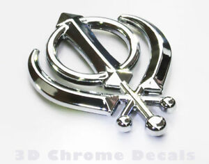 Khanda-Sikhs-Symbol-Car-3D-chrome-decal-sticker