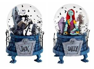 NIGHTMARE-BEFORE-CHRISTMAS-JACK-amp-SALLY-SNOW-GLOBES