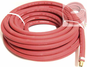 2-NEW-50-Ft-1-2-034-Continental-Rubber-Air-Hose-TRUCK-SERVICE