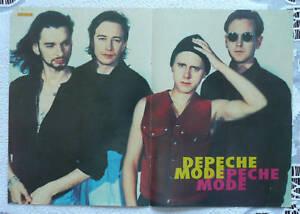 DEPECHE MODE / SHAKESPEARS SISTERS - old polish poster - <span itemprop=availableAtOrFrom>Gniezno, Polska</span> - Zwroty są przyjmowane - Gniezno, Polska