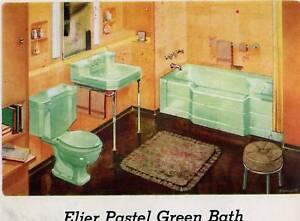 Image Is Loading 1955 Memphis Tennessee PLUMBING Mid Century Retro Bathrooms