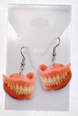 Teeth Earrings Cosmetic With Gums Charms