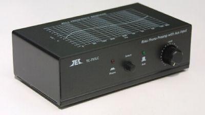 Tcc Tc 753Lc Black Phono Preamp With Premium Ac Adaptor