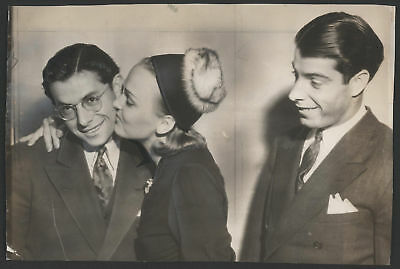1939 Orig 1St Gen Press Photo   Joe   Dom Dimaggio