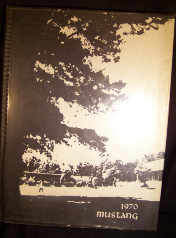 "1970 Myers Park Highschool Yearbook ""Mustang"" Vol. 19"